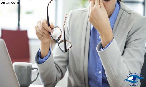 مراقبت از چشم به هنگام کار با لپ تاپ و کامپیوتر